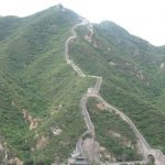 Reema captures a view from her ascent of part of China's Great Wall outside Beijing - © ReemaFaris.com