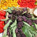 Reema captures the stunningly vibrant colours of produce for sale in a Florentine market - © ReemaFaris.com