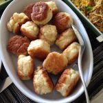 Reema's photo of her home-made Johnny Cakes, a Jamaican pan-fried biscuit - © ReemaFaris.com