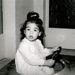 Reema, as an enthusiastic young driver - ReemaFaris.com