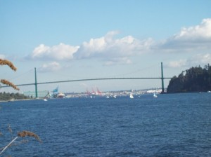 Lions Gate Bridge - Photo by: Reema Faris - © ReemaFaris.com