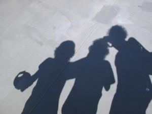 Reema, playing with shadows - ReemaFaris.com