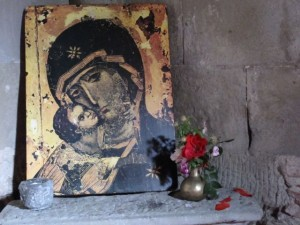 Reema's photo is of a country church icon of the Madonna and Child in Italy - © ReemaFaris.com