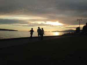 English Bay Sunset - © ReemaFaris.com