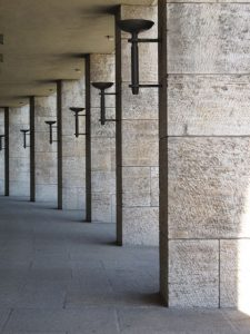 Reema captures the architectural symmetry and majesty of the historic Olympic Stadium in Berlin - © ReemaFaris.com