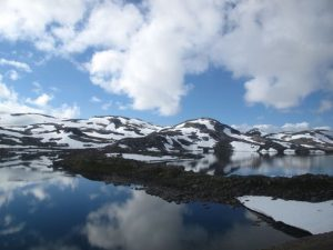 Reema captures the beauty of the landscape from the train between Oslo and Bergen - © ReemaFaris.com