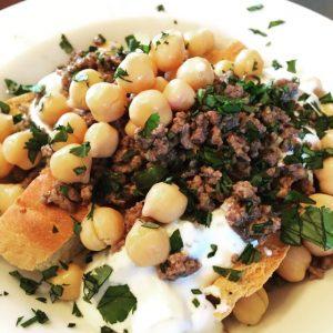 Reema shares a mouth-watering image of Fateh al Laban, a traditional Lebanese dish - © ReemaFaris.com