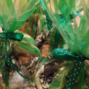 Reema's photo of holiday cookies packaged up and ready to present as gifts - © ReemaFaris.com