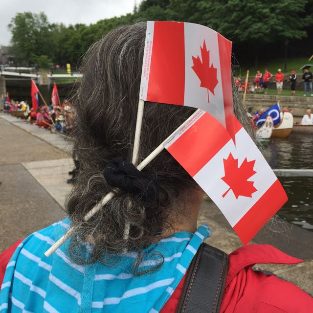 Reema shares an image of Canada Day celebrations on the Rideau Canal from July 2017.